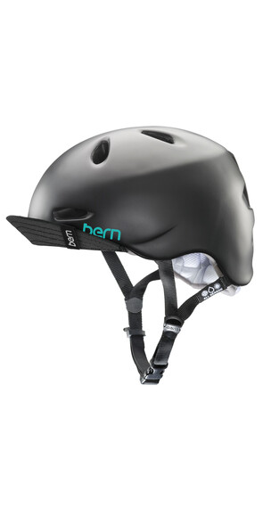 Bern Berkeley Helm inkl. Flip-Visier satin-schwarz